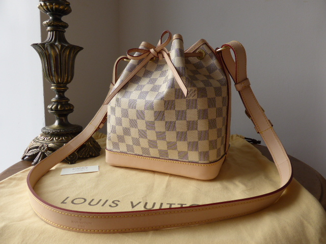 Louis Vuitton Noe BB in Damier Azur - As New