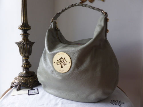 4ae100f7a1f6 Mulberry Large Daria Hobo in Drizzle Soft Spongy Leather - SOLD