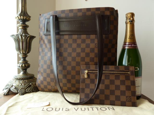 Louis Vuitton Clifton Tote & Zip Pouch in Damier Ebene