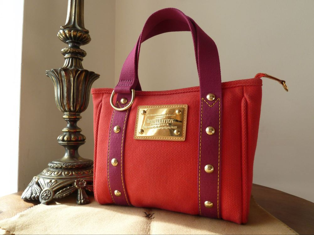 Louis Vuitton Antigua Lt Ed PM in Red