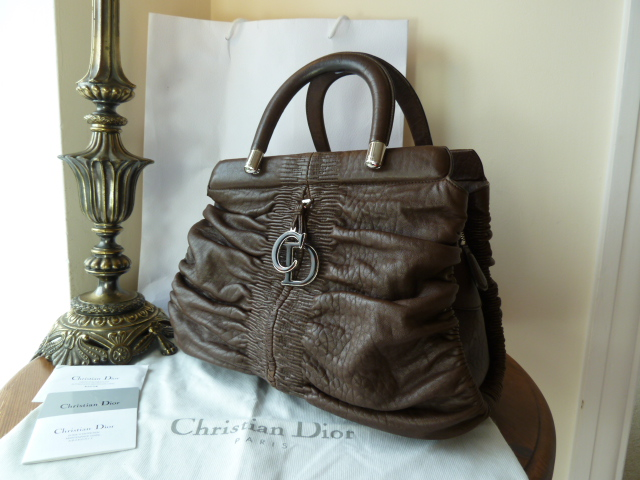 Dior Karenina in Chocolate Lambskin