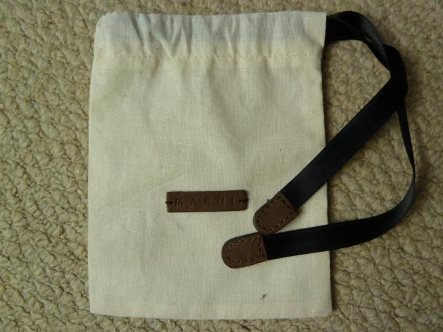 Marni Mini Dustbag (10.9cm x 13.6cm)