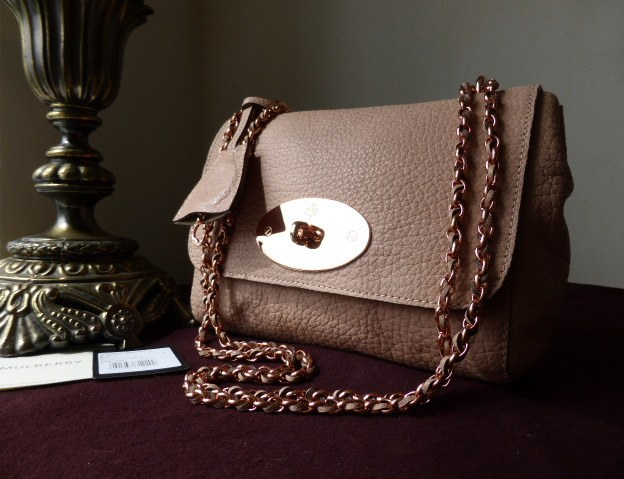 mulberry lily regular powder beige maxi grain rghw