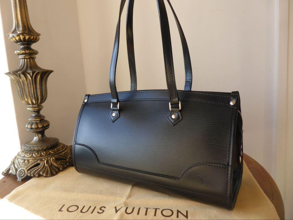 Louis Vuitton Madeleine PM in Noir Epi