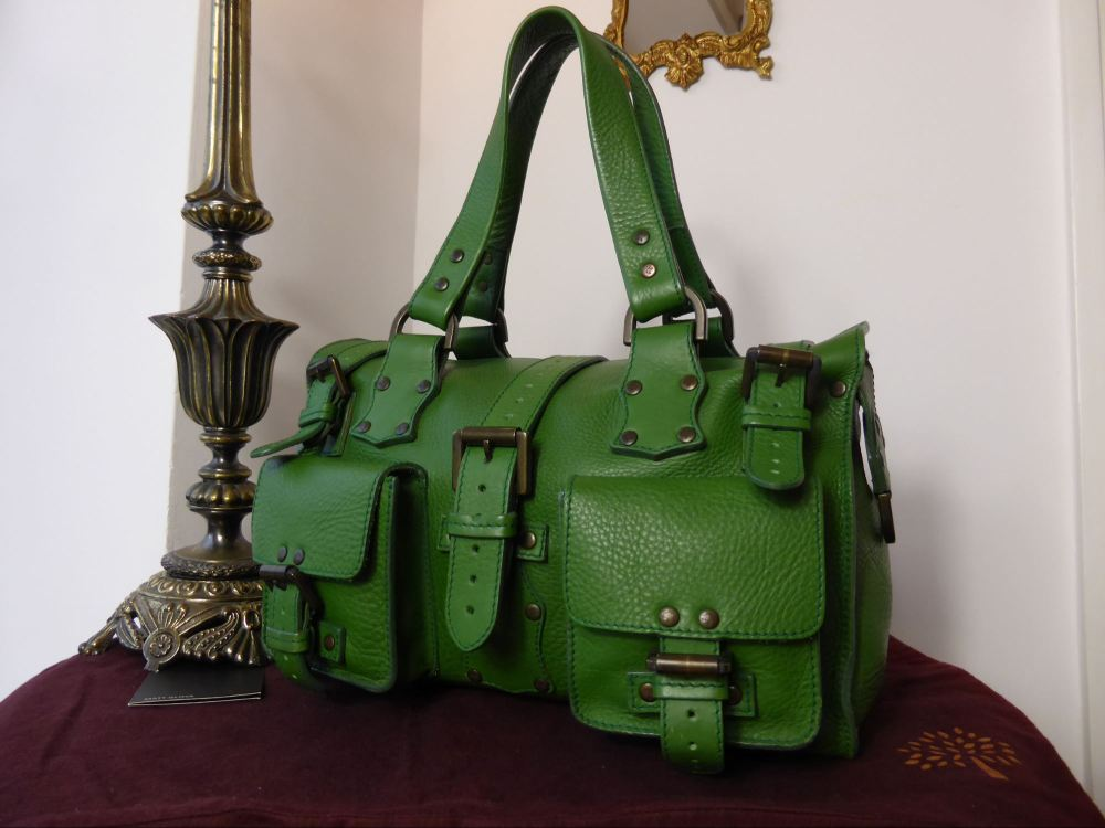 Mulberry Roxanne in Emerald Glove Leather