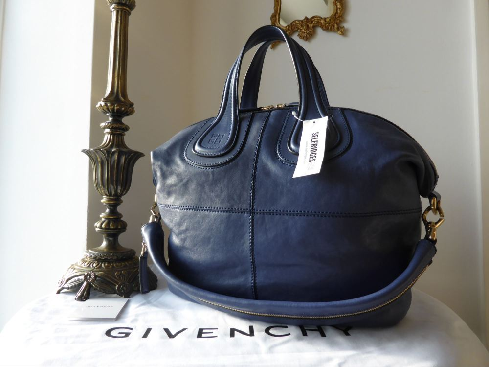 Givenchy Nightingale Medium Soft in 'Bright' Blue - New*