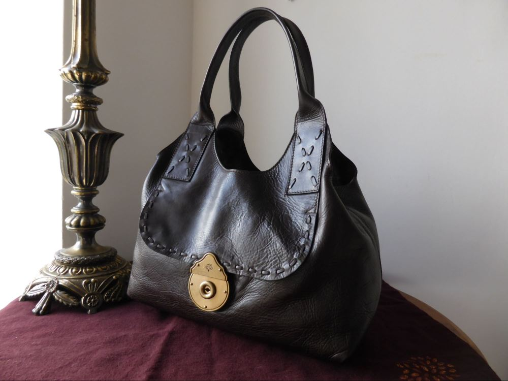 Mulberry Langham in Chocolate Havana Leather