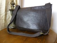 Mulberry Large Dan Messenger in Chocolate Natural Leather