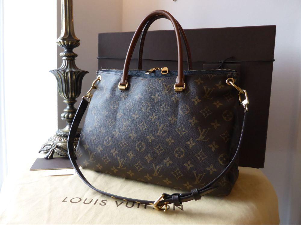 0079bdf47dc Louis Vuitton Pallas MM in Monogram Noir - SOLD