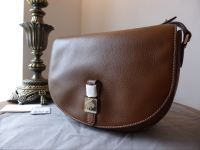 Mulberry Tessie Satchel in Oak Soft Small Grain Leather - New