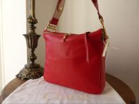 Chloe Vanessa in Holly Berry Sheeps Leather - New
