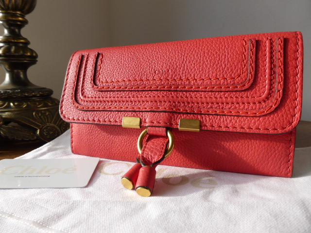 Chloe Marcie Continental Purse in Pinkberry - New