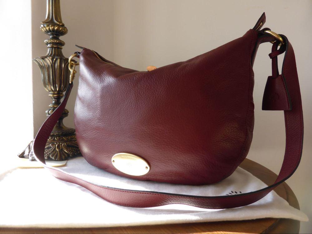 Mulberry Bella Messenger in Black Forest Soft Matte Leather