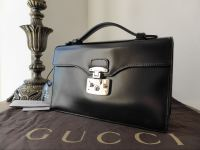Gucci Lady Lock Top Handle in Black - New