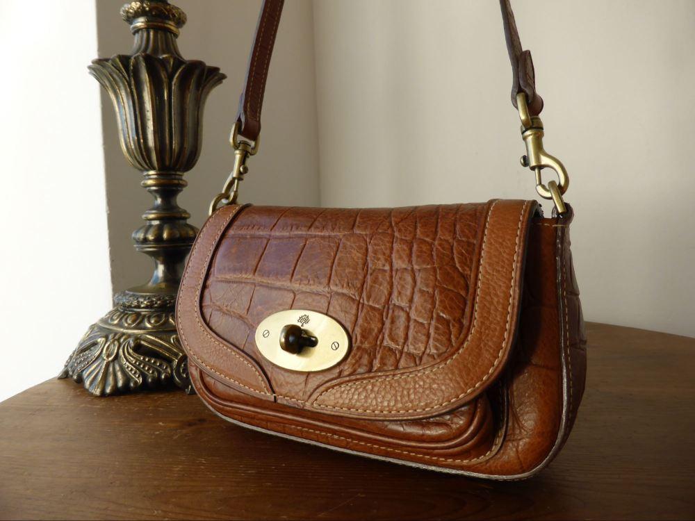 Mulberry Belle in Oak Kenya Leather