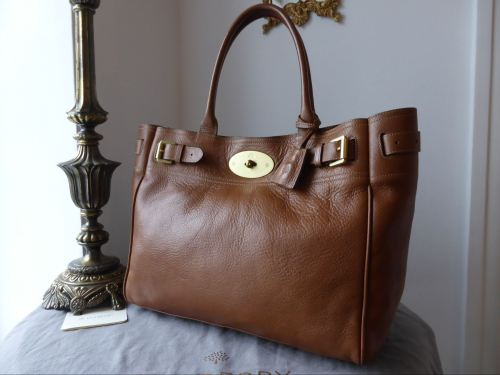 17edb589bc7f Mulberry Bayswater Tote in Oak Natural Leather - SOLD