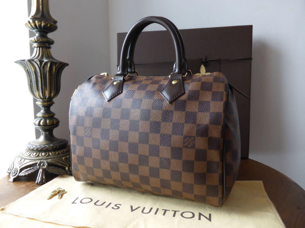 Louis Vuitton Speedy 25 in Damier Ebene - As New