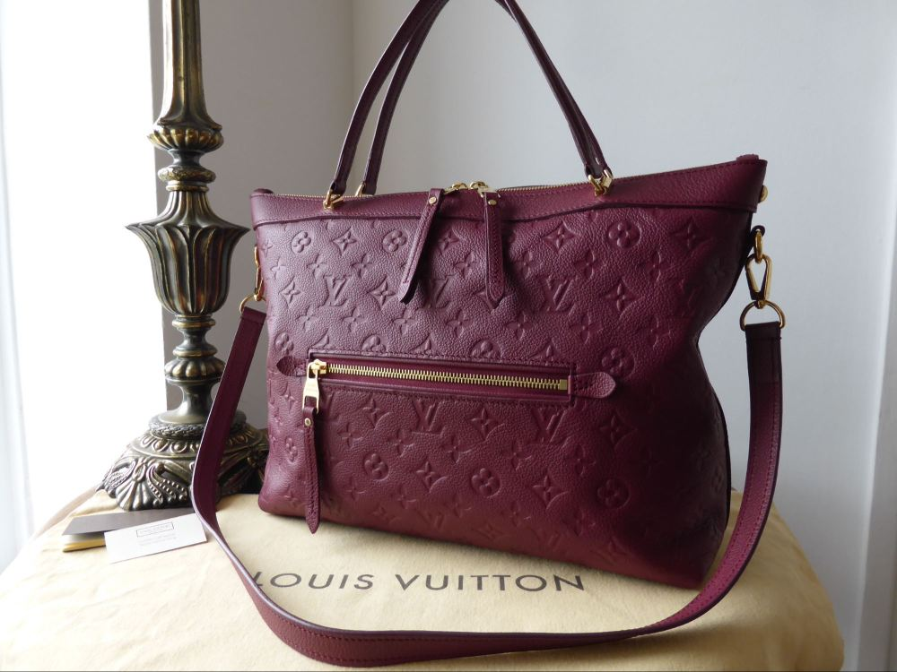 Louis Vuitton Bastille MM in Monogram Empreinte Aurore