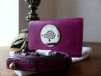 Mulberry Daria Mini Messenger for iPhone in Forest Fruits Soft Nappa - As New