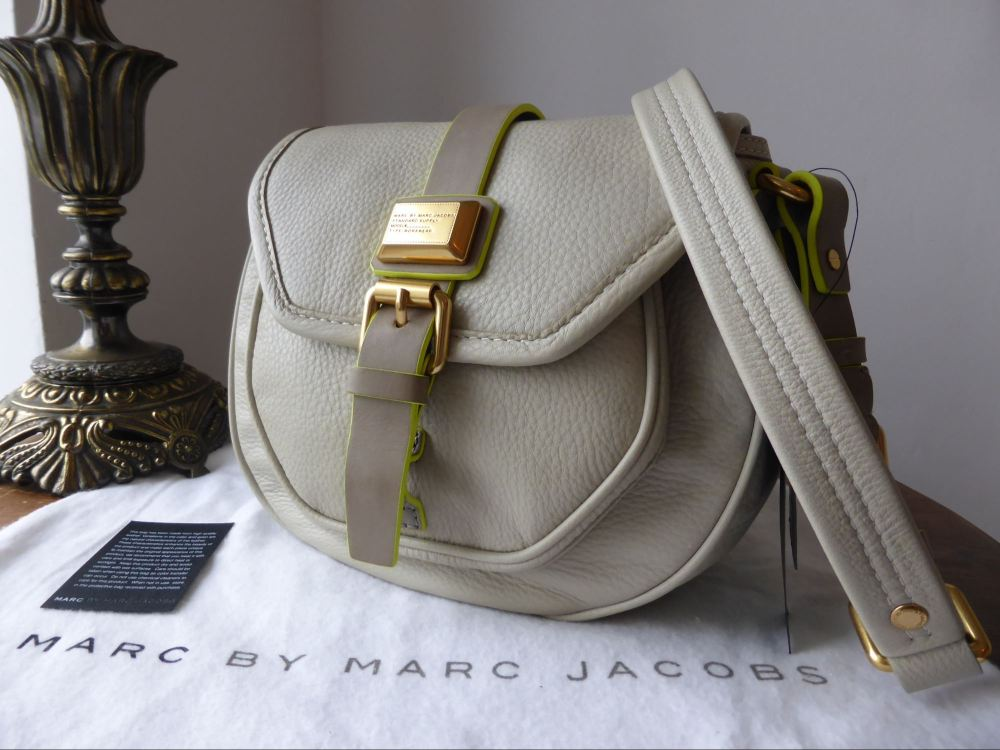 Marc by Marc Jacobs Saddlery Cadet in Cloud - New*
