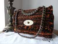 Mulberry Cecily Medium in Flame Exotic Tweed - New