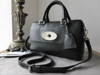 Mulberry Del Rey (Small) in Black Glossy Goat Leather