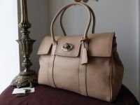 Mulberry Bayswater in Nude Pink Soft Tumbled Grain Leather