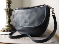 Mulberry Effie Satchel in Midnight Blue Spongy Pebbled Leather
