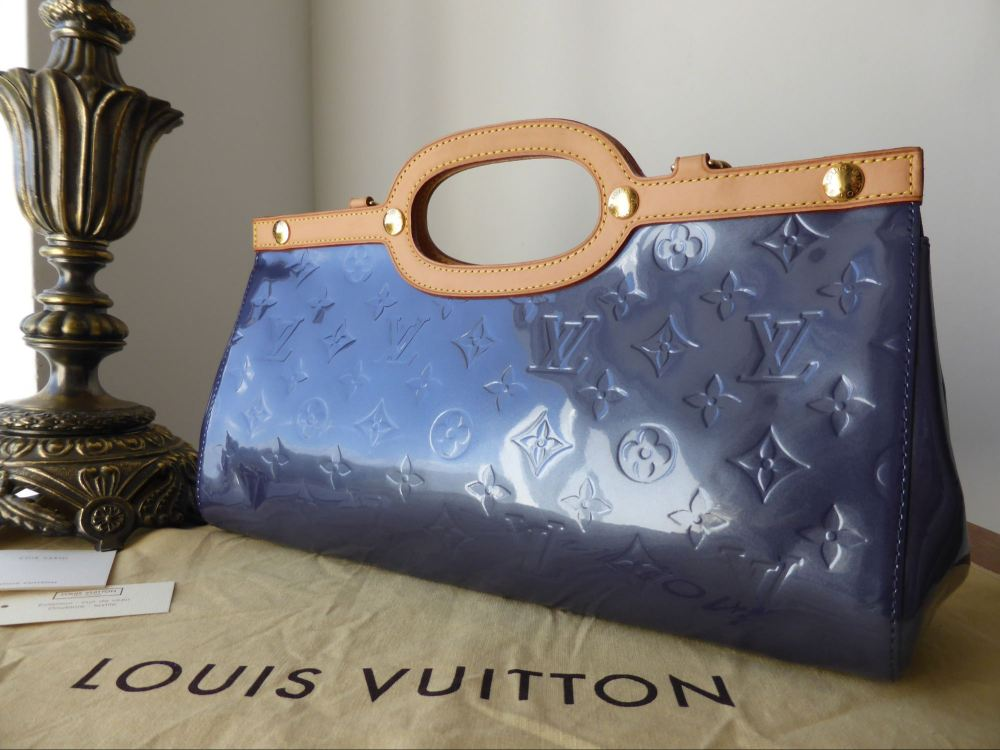 Louis Vuitton Roxbury Drive in Indigo Vernis