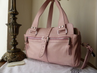 Mulberry Mabel (Medium) in Rose Pink Nappa Leather