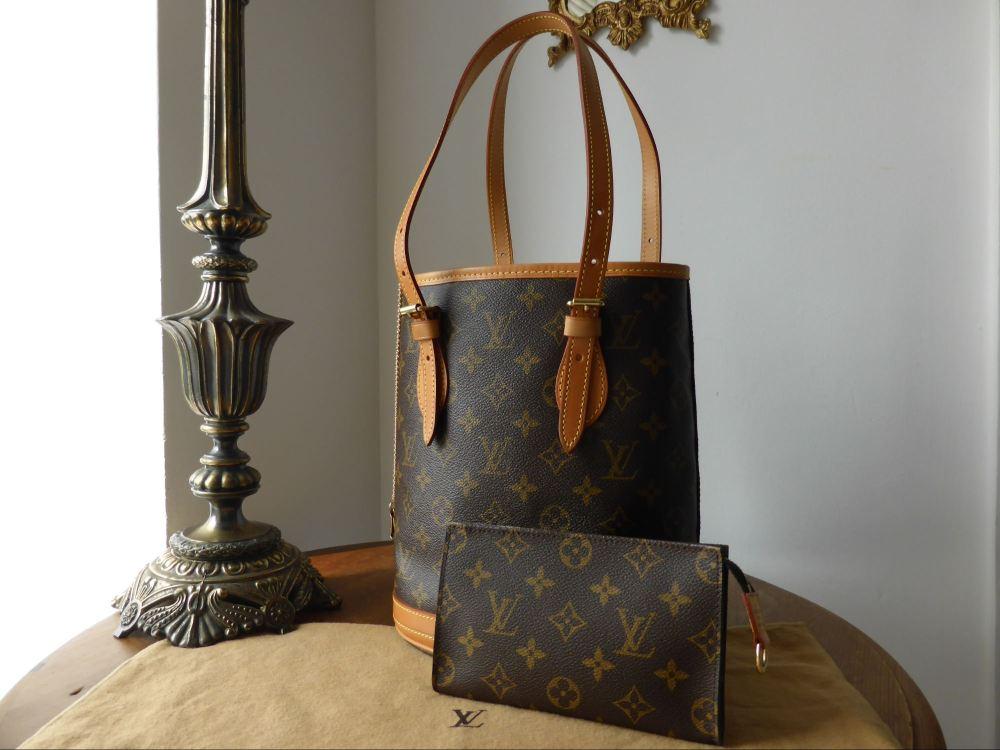 Louis Vuitton Marais Bucket Bag PM in Monogram