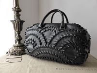 Bottega Veneta San Marco Intrecciato Karung Boston - New*