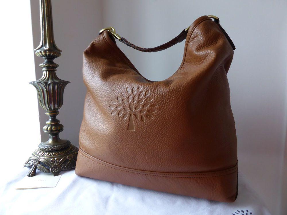Mulberry Effie Hobo in Oak Spongy Pebbled Leather