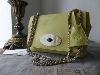 Mulberry Lily in Pistachio Glossy Goat Leather - New