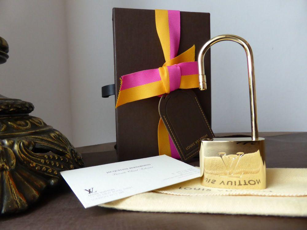 Louis Vuitton VIP XL Lock Shaped Bag Hook - New*