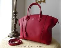 Louis Vuitton Lockit MM Veau Cachemire Framboise - New*