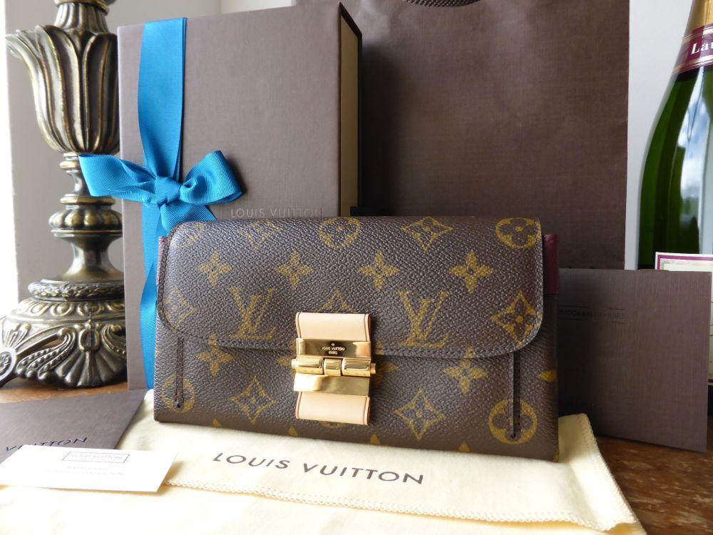 Louis Vuitton Elysée Purse Monogram Bordeaux - New
