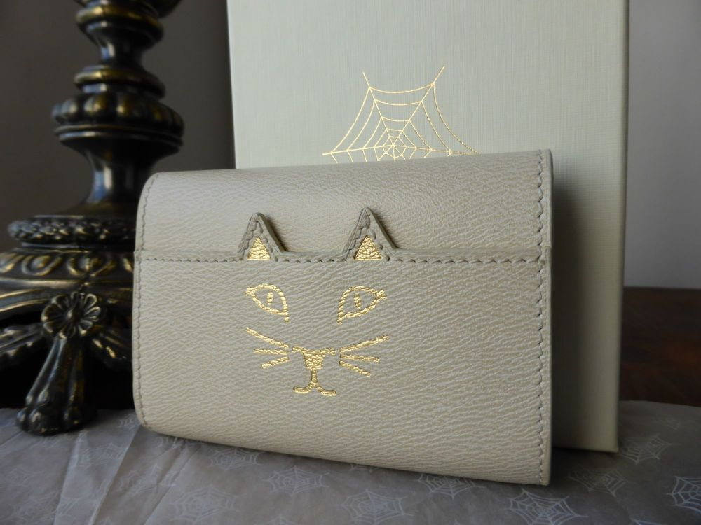 Charlotte Olympia Feline Mini Wallet - New