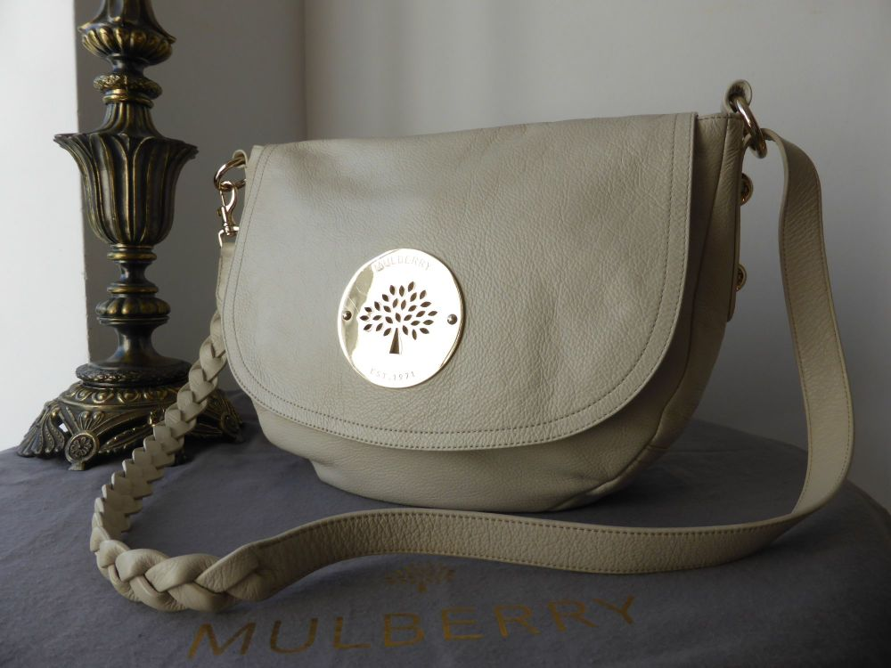Mulberry Daria Satchel in Pear Sorbet Soft Spongy Leather
