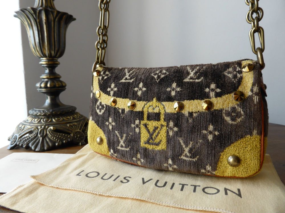 Louis Vuitton Limited Edition Trompe L'Oeil Pochette.