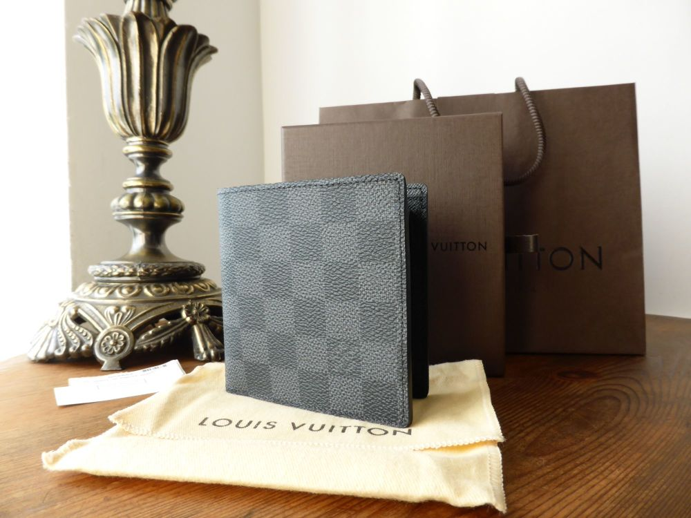 Louis Vuitton Marco Wallet in Damier Graphite - New