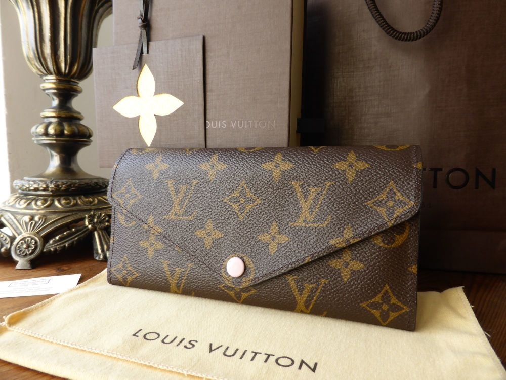 Louis Vuitton Josephine Purse in Monogram and Rose Ballerine - As New