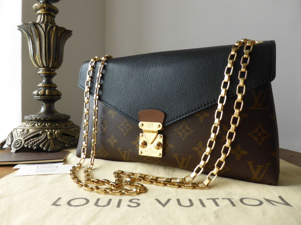 Louis Vuitton Pallas Chain in Monogram Noir