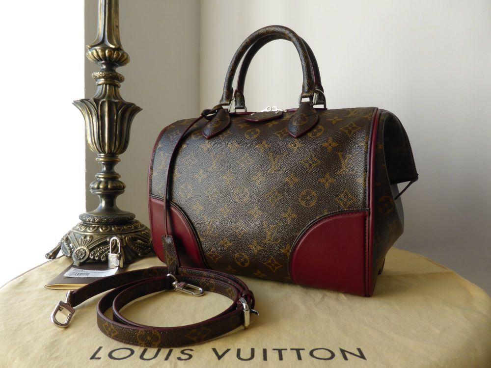 Louis Vuitton Doc PM Show Bag Bordeaux and Monogram - New