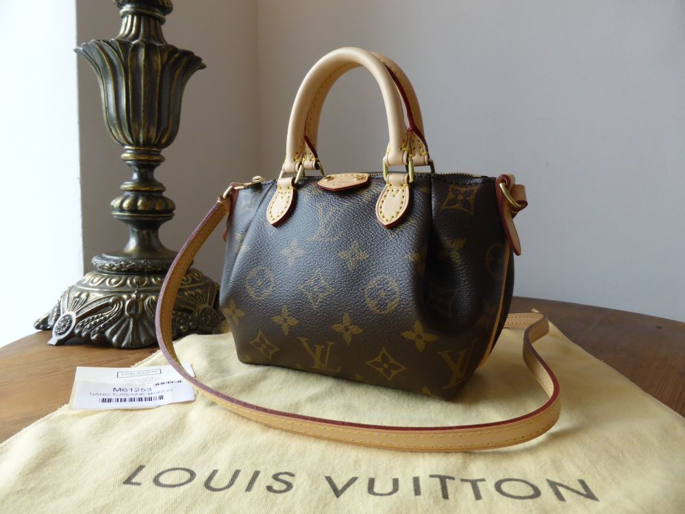Louis Vuitton Nano Turenne Monogram Bag - New