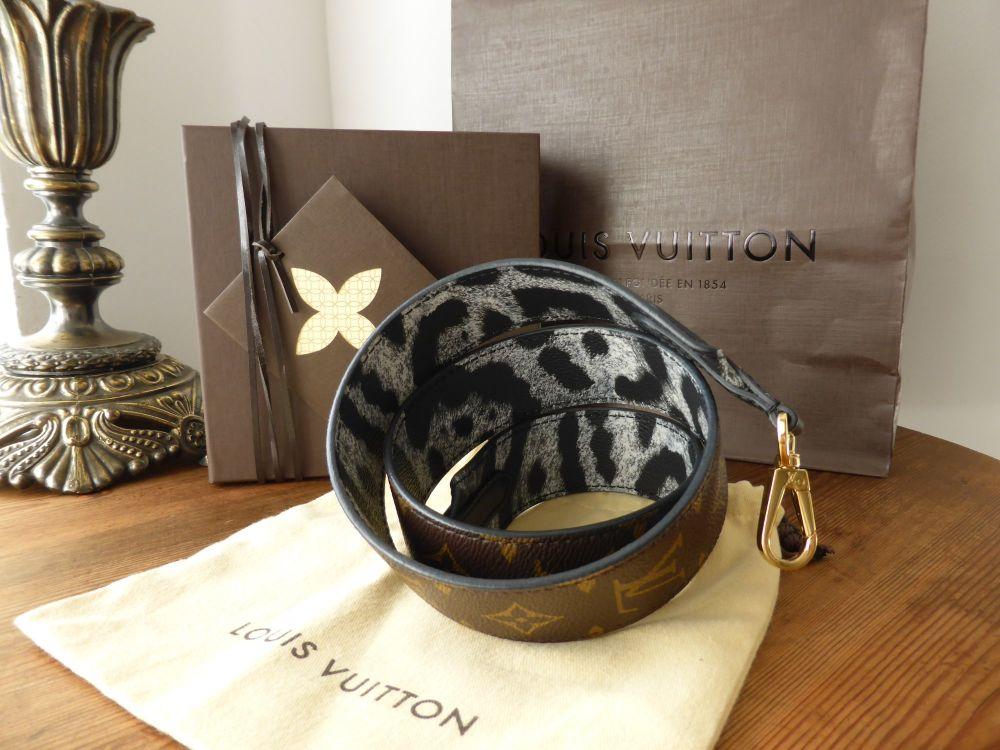 Louis Vuitton Bandouliere Monogram Animal Strap