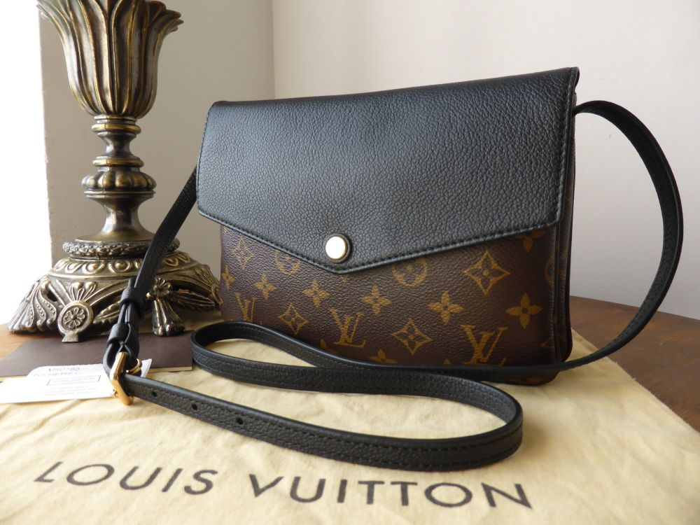 Louis Vuitton Twice Pochette in Monogram Noir