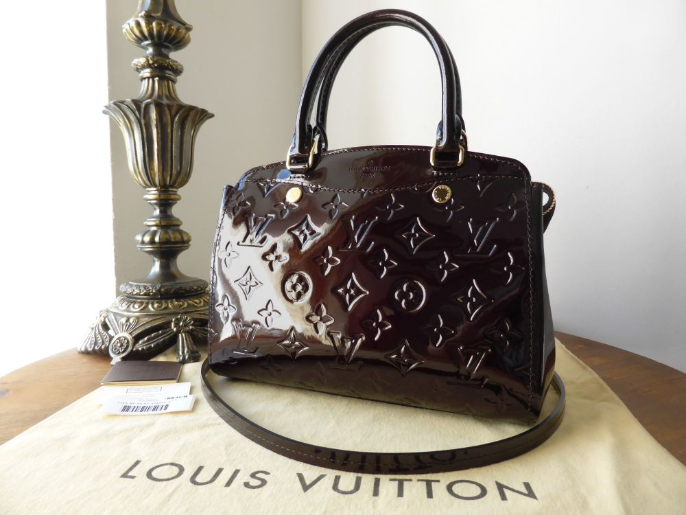 Louis Vuitton Brea PM in Amarante Vernis - As New*