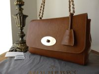 Mulberry Lily Medium in Oak Natural Leather - New