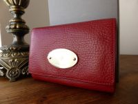 Mulberry French Purse in Poppy Red Natural Leather - New